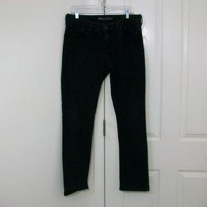 Levi's Slight Curve Slim Leg Black Jeans